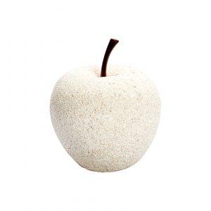 Manzana blanca de resina