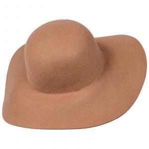 Sombrero de paño Rosado