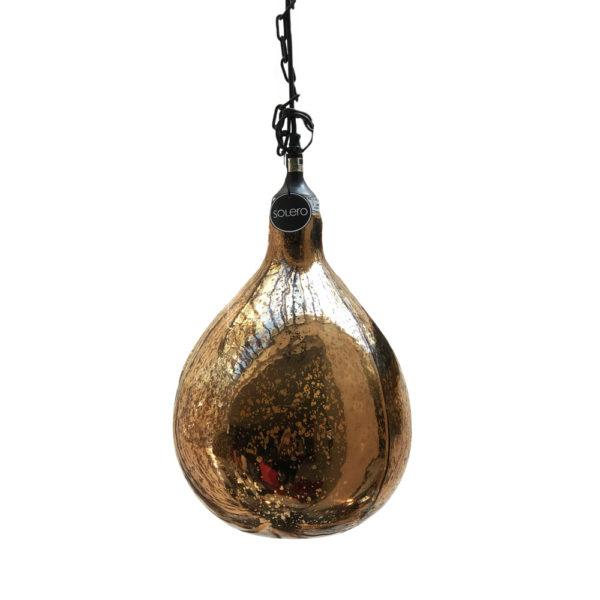Lámpara de techo Salina Antic Ambar