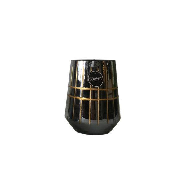 Bricero negro dorado L