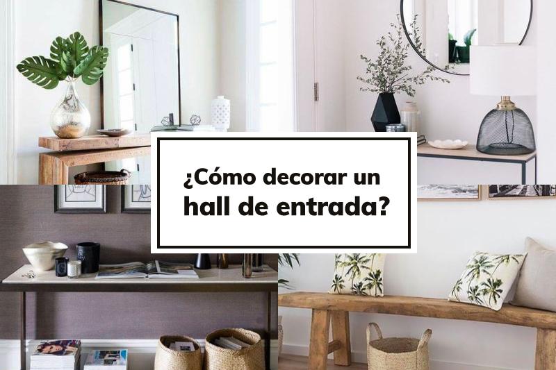 Solero Blog como decorar un hall de entrada