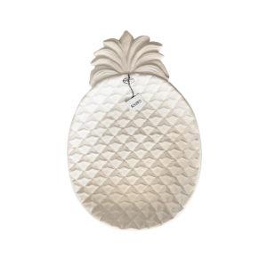 Solero bandeja piña blanca