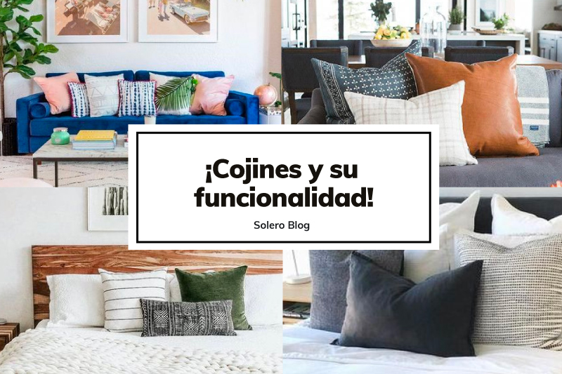 COJINES Y SU FUNCIONALIDAD