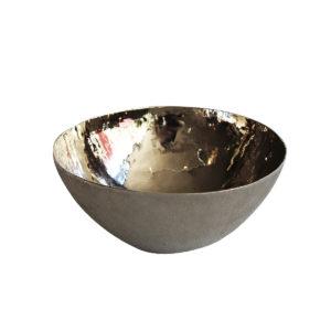 Bowl baño plata m