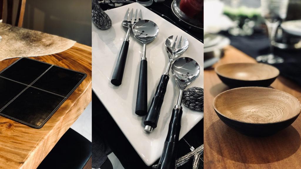 Solero Blog Color Trend Negro Accesorios de mesa