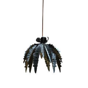 lámpara de techo leaf black